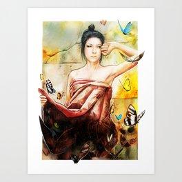 Ellen Allien Art Print