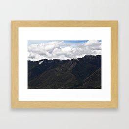 Andes Framed Art Print