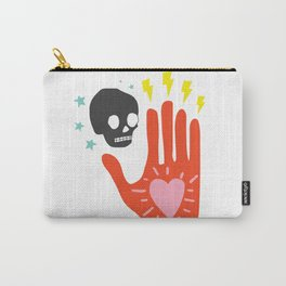 In Their Hands Carry-All Pouch