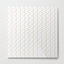Sheep Polka Dots Metal Print