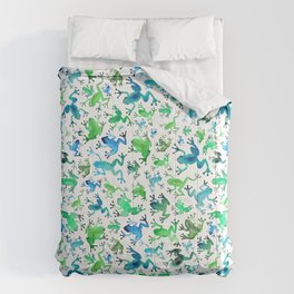 Tree Frogs Comforters