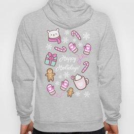 Cute Christmas // Pink Hoody