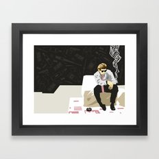 Vices Framed Art Print