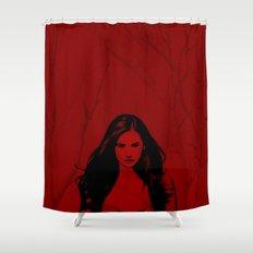 Vampire Diaries Shower Curtain