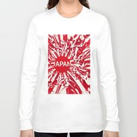japan Long Sleeve T-shirts featuring Japan by Danny Ivan