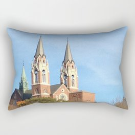 Holy Hill Rectangular Pillow
