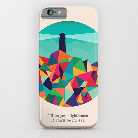 I'll be your lighthouse if you'll be my sea iPhone & iPod Case