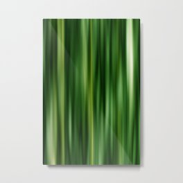 Stripes  darkgreen Metal Print