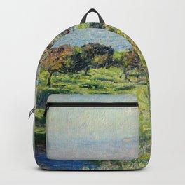 """Claude Monet """"Coup De Vent"""" Backpack"""