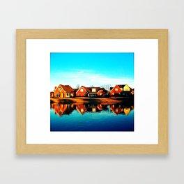 suburbia. Framed Art Print