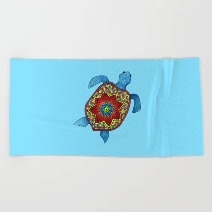 awesome beach towels. Turtley Awesome Mosaic Turtle Beach Towel Towels L