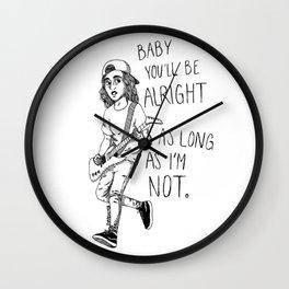 vic fuentes Wall Clock