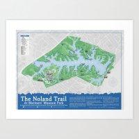 Noland Trail Second Edition Art Print