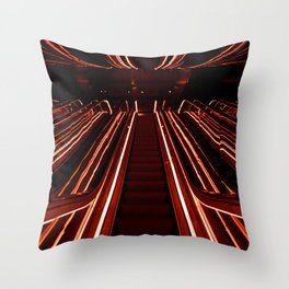 Public Hotel Throw Pillow