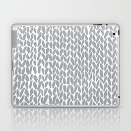 Hand Knit Zoom Grey Laptop & iPad Skin