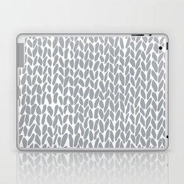 Hand Knit Zoom Grey Laptop & iPad Skin