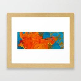 Digital Goldfish Framed Art Print