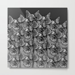 Thats a Lot of Cool Cats Metal Print