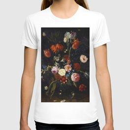 """Jan van Kessel the Elder """"Floral still life"""" T-shirt"""