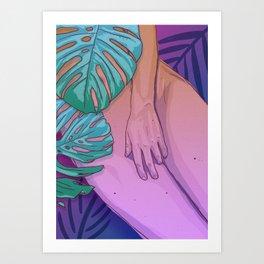 Intimacy Art Print