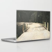 wooden Laptop & iPad Skins featuring Wooden Bridge by Chris' Landscape Images & Designs
