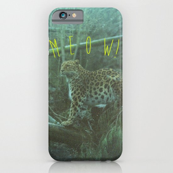 MEOW! iPhone & iPod Case