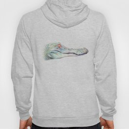 Albino Alligator Hoody