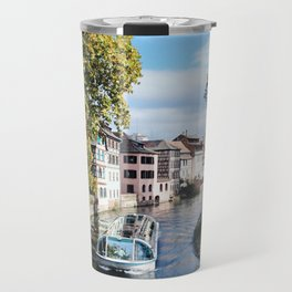 Strasbourg River View Travel Mug