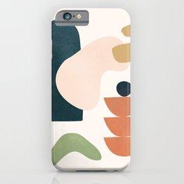 Minimal Shapes No.29 iPhone Case