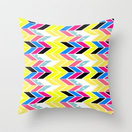 Side Chevron Throw Pillow