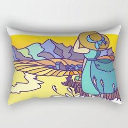 Missing Montana Rectangular Pillow