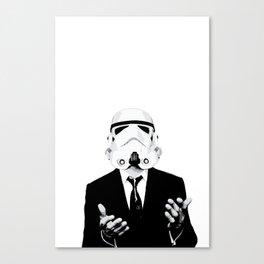 GQ Trooper Canvas Print