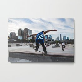 On the Grind Metal Print