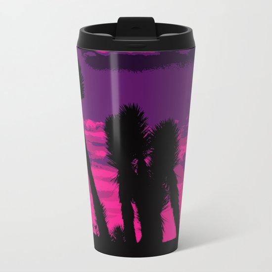 Joshua Sunset Metal Travel Mug