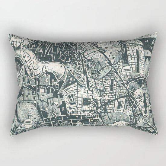 N.A.S.A. Control Rectangular Pillow