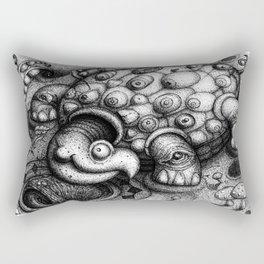 Eye Turtle Rectangular Pillow