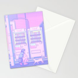 Vending Machines Stationery Cards