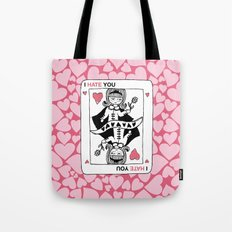 I Hate You / Poker Tote Bag