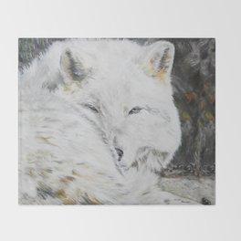 Eye of the Wild by Teresa Thompson Throw Blanket