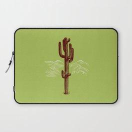 cactus y nieve Laptop Sleeve