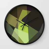 prometheus Wall Clocks featuring Prometheus by mobokeh