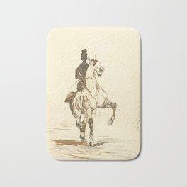 """Henri de Toulouse-Lautrec """"Amazone"""" Bath Mat"""