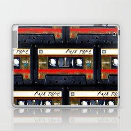 Retro classic vintage gold mix cassette tape Laptop & iPad Skin