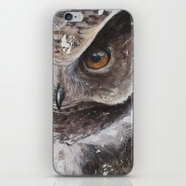 """The Owl - """"Watch-me!"""" - Animal - by LiliFlore iPhone Skin"""