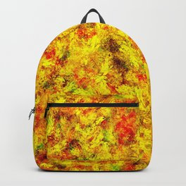 Multicolor paint Backpack