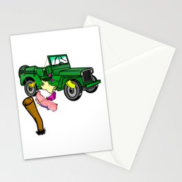 4WD Stationery Cards