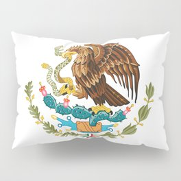 coat of arms of Mexico Pillow Sham