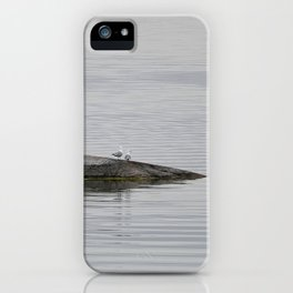 Grey-scale nature iPhone Case