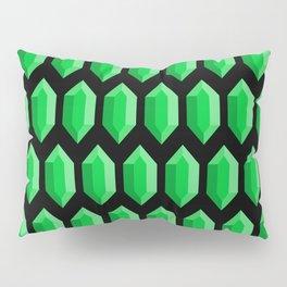 These Aren't Rupees! - Green Pillow Sham