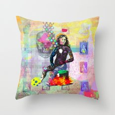 You can be dead to me now Throw Pillow